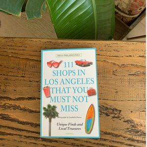 111 Shops in LA That You Must Not Miss Book